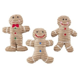 Ethical Pet Products Holiday Gingerbread Dog Toy