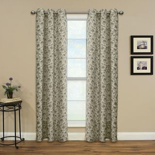 Miller Curtains Enfield Onyx 84-inch Grommet Panel