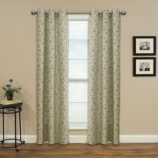 Miller Curtains Enfield Sand 84-inch Grommet Panel