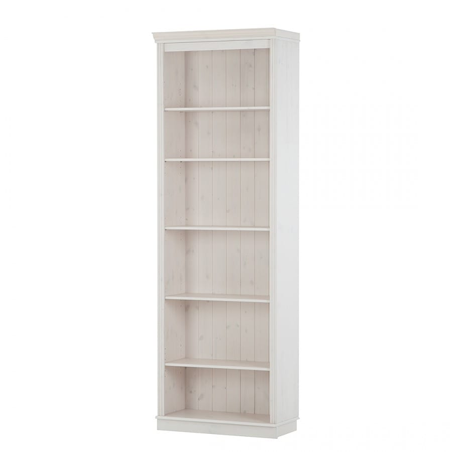 Scandinavian Lifestyle Anita Solid Pine Bookcase with Opt...