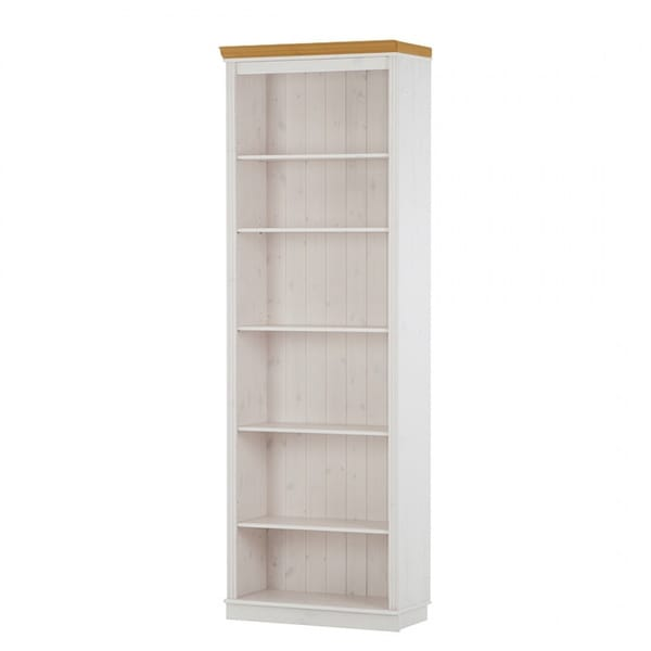 Anita Solid Pine Bookcase with Optional Glass and Wood Doors  sc 1 st  Overstock.com & Anita Solid Pine Bookcase with Optional Glass and Wood Doors - Free ...