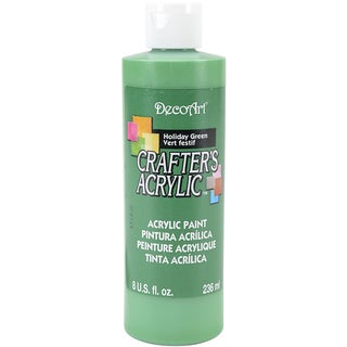Crafter's Acrylic AllPurpose Paint 8ozHoliday Green