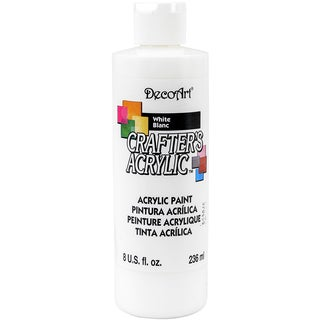 Crafter's Acrylic AllPurpose Paint 8ozWhite