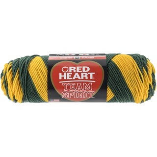 Red Heart Team Spirit YarnGreen & Gold
