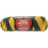 Red Heart Team Spirit YarnGreen & Gold