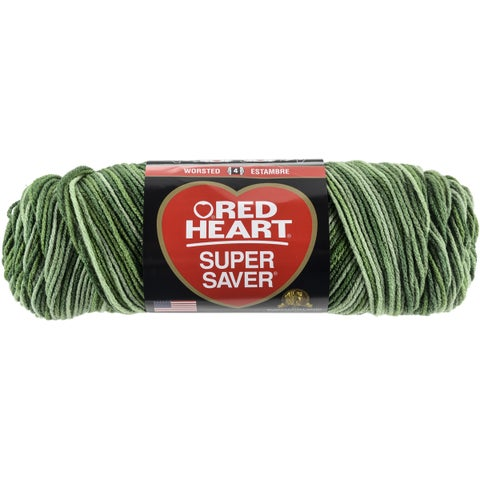 Red Heart Super Saver YarnGreen Tones