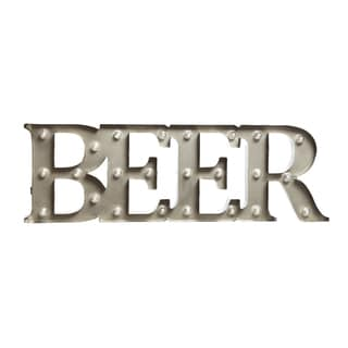 Black Series 7.5in Metal BEER LED Marquee Sign