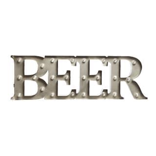 Black Series 7.5in Metal BEER LED Marquee Sign