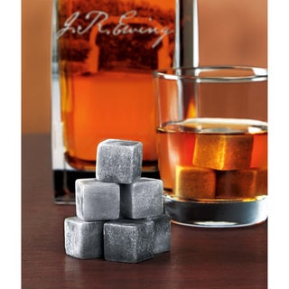Sharper Image 10 Piece Drinking Stone Set