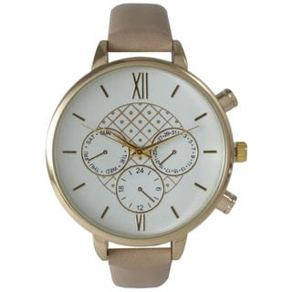 Olivia Pratt Women's Fashionable Leather Watch