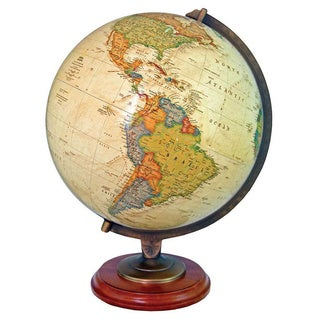 Adams National Geographic Illuminated Desktop World Globe