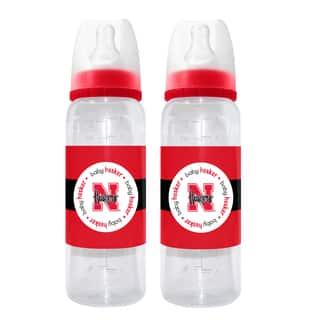 Nebraska Cornhuskers 2-piece Baby Bottle Set|https://ak1.ostkcdn.com/images/products/10621048/P17691241.jpg?impolicy=medium