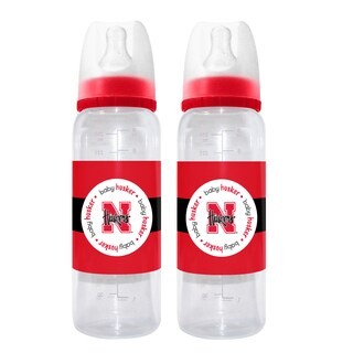 Nebraska Cornhuskers 2-piece Baby Bottle Set