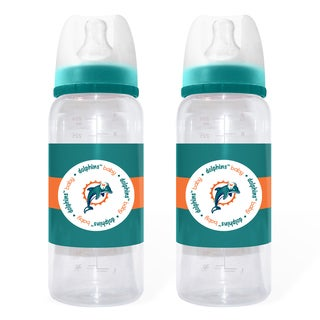 Miami Dolphins 2-piece Baby Bottle Set