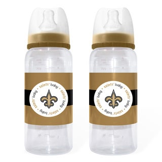 New Orleans Saints 2-piece Baby Bottle Set