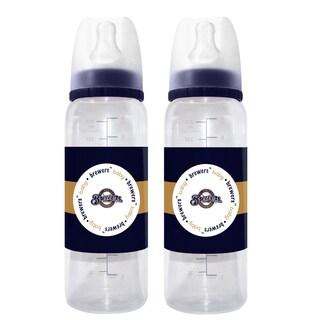 Milwaukee Brewers 2-piece Baby Bottle Set