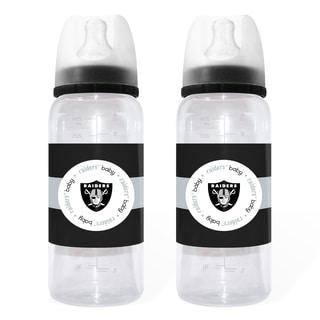 Oakland Raiders 2-piece Baby Bottle Set