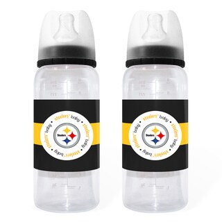 Pittsburgh Steelers 2-piece Baby Bottle Set