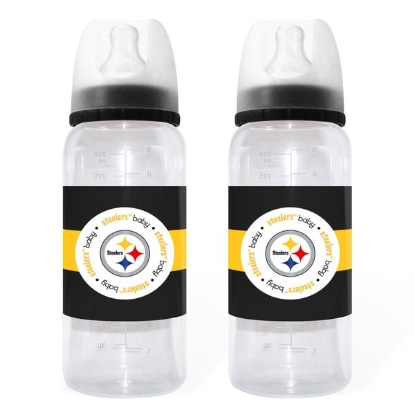 Pittsburgh Steelers 2-piece Baby Bottle Set