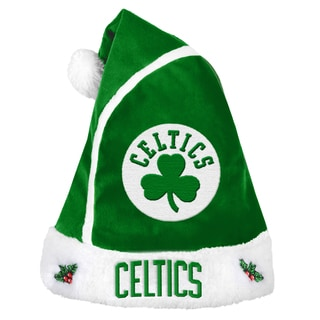 Boston Celtics 2015 NBA Polyester Santa Hat
