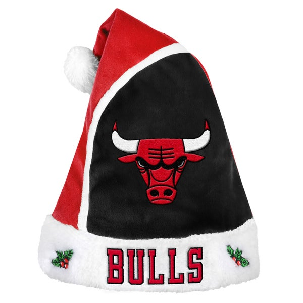 Chicago Bulls 2015 NBA Polyester Santa Hat