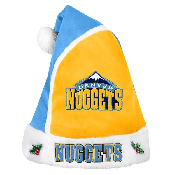 Denver Nuggets 2015 NBA Polyester Santa Hat