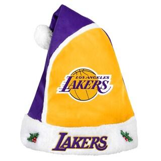 Los Angeles Lakers 2015 NBA Polyester Santa Hat