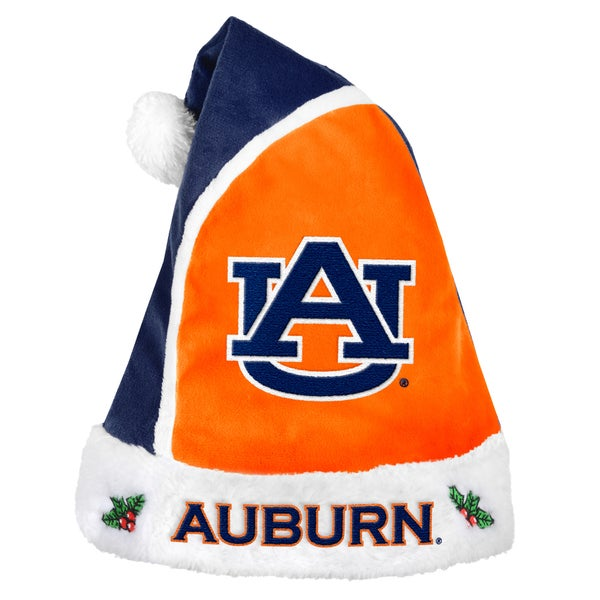 Auburn Tigers 2015 NCAA Polyester Santa Hat