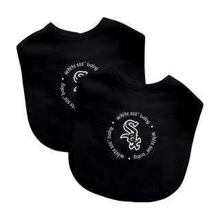 Baby Fanatic MLB Chicago White Sox 2-pack Baby Bib Set|https://ak1.ostkcdn.com/images/products/10621157/P17691340.jpg?impolicy=medium