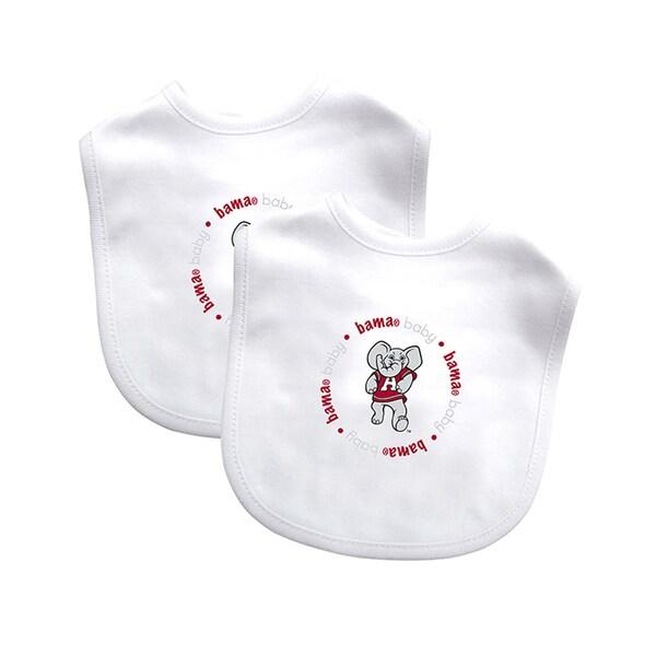 Baby Fanatic Alabama Crimson Tide 2-pack Baby Bib Set