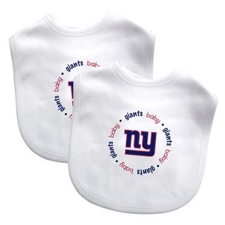Baby Fanatic NFL New York Giants 2-pack Baby Bib Set