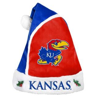 Kansas Jayhawks 2015 NCAA Polyester Santa Hat