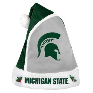 Michigan State Spartans 2015 NCAA Polyester Santa Hat