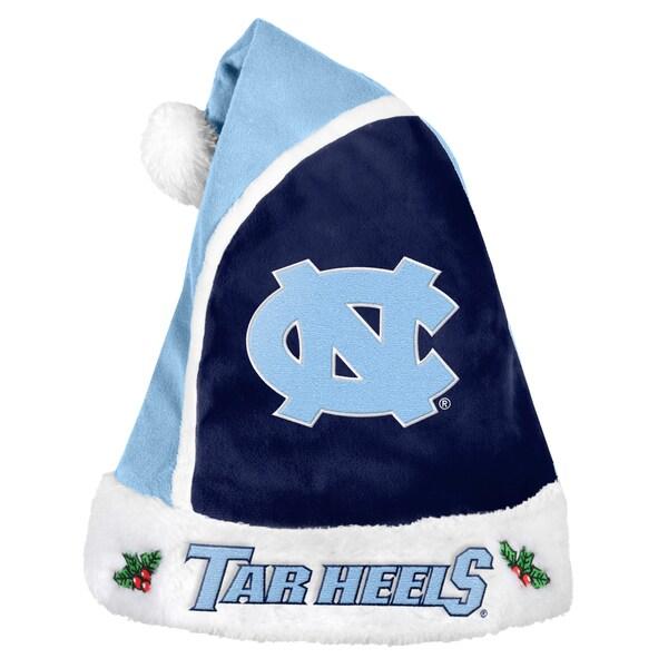 North Carolina Tarheels 2015 NCAA Polyester Santa Hat