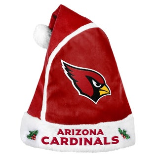 Forever Collectibles Arizona Cardinals 2015 NFL Polyester Santa Hat