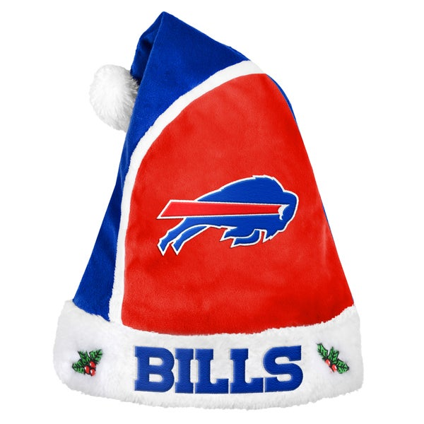 Forever Collectibles Buffalo Bills 2015 NFL Polyester Santa Hat