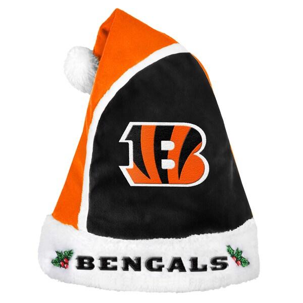 Forever Collectibles Cincinnati Bengals 2015 NFL Polyester Santa Hat