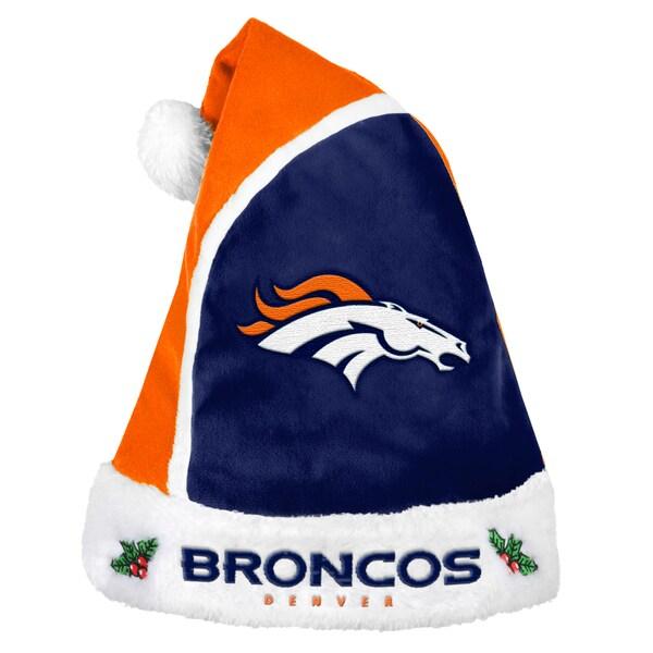 Forever Collectibles Denver Broncos 2015 NFL Polyester Santa Hat