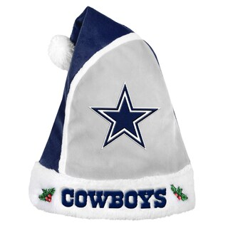 Forever Collectibles Dallas Cowboys 2015 NFL Polyester Santa Hat