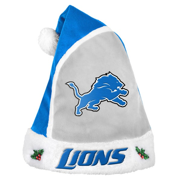 Forever Collectibles Detroit Lions 2015 NFL Polyester Santa Hat