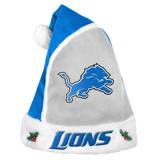 Forever Collectibles Detroit Lions 2015 NFL Polyester Santa Hat