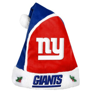Forever Collectibles New York Giants 2015 NFL Polyester Santa Hat