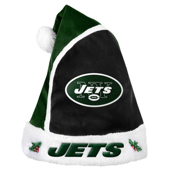 Forever Collectibles New York Jets 2015 NFL Polyester Santa Hat