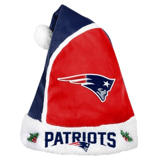 Forever Collectibles New England Patriots 2015 NFL Polyester Santa Hat