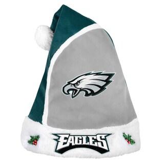 Forever Collectibles Philadelphia Eagles 2015 NFL Polyester Santa Hat