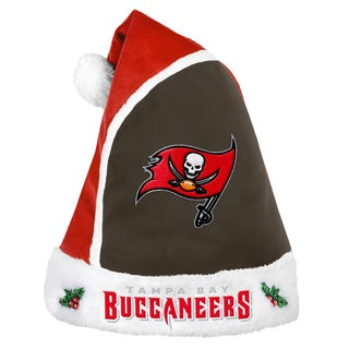 Forever Collectibles Tampa Bay Buccaneers 2015 NFL Polyester Santa Hat