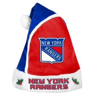 New York Rangers 2015 NHL Polyester Santa Hat
