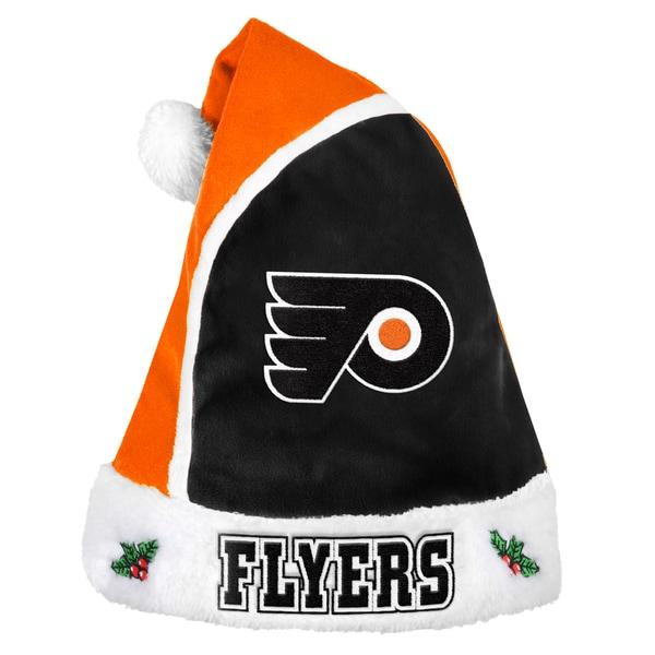 Philadelphia Flyers 2015 NHL Polyester Santa Hat