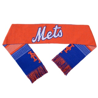 Forever Collectibles MLB New York Mets Split Logo Reversible Scarf