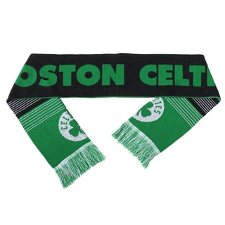 Forever Collectibles NBA Boston Celtics Split Logo Reversible Scarf